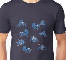 Tachikoma montage Unisex T-Shirt