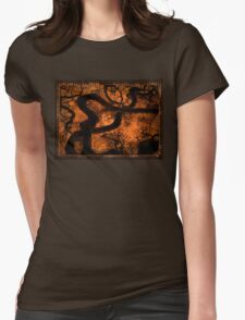 bough down Womens Fitted T-Shirt