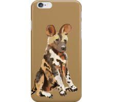 African Wild pup iPhone Case/Skin