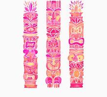 Tiki Totems – Pink Palette Unisex T-Shirt