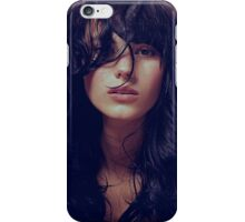 Wisp - natural girl, awesome vintage cool blue, Erotic t-shirt fashion photography iPhone Case/Skin