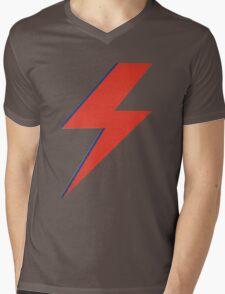 Crying lightning Mens V-Neck T-Shirt