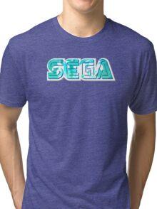 Vaporwave Sega Tri-blend T-Shirt