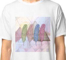 Feathered Desert Mountains Classic T-Shirt