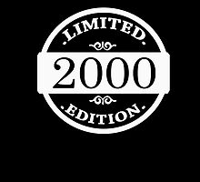 2000 Limited Edition 2016 by Phasma