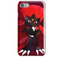 Weavile - Red iPhone Case/Skin