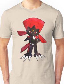 Weavile - Red Unisex T-Shirt