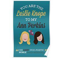 Leslie & Ann Poster