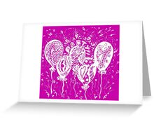 Party Time Aussie Tangle White - Heather Holland - See Product Notes re Colour Options.  Greeting Card