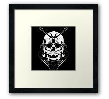 Play Me Some Skull Music Framed Print