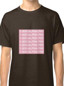 Alpha Phi Hotline Bling Classic T-Shirt