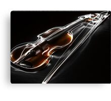 'Virtuoso' - Blazing Violin Canvas Print