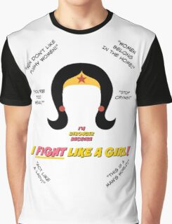 I Fight Like A Girl Graphic T-Shirt