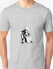Ghost in the Shell,  Major crouching (B&W) T-Shirt