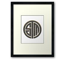 TSM Metallic (Yellow Glow) Framed Print