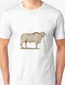 Brahman Bull Drawing T-Shirt