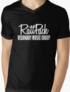 Logic Ratt Pack Visionary Music Group Mens V-Neck T-Shirt
