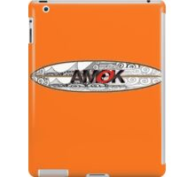 AMOK - tribal breaker surfboard iPad Case/Skin