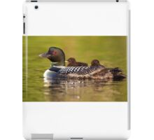 Once around the lake please - Common Loon iPad Case/Skin