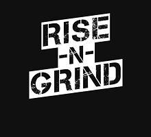 Rise n Grind - White Unisex T-Shirt