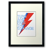 Ch-ch-ch-changes Framed Print