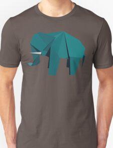 ORIGAMI ELEPHANT Unisex T-Shirt