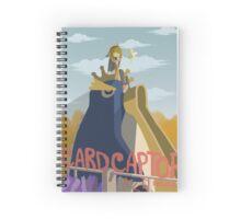Sakura's Emperor Penguin Spiral Notebook