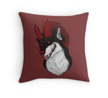 Kage Bust Throw Pillow