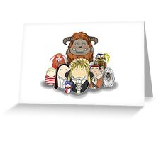 Labyrinth Nostalgia Greeting Card