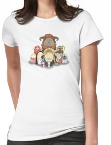 Labyrinth Nostalgia Womens Fitted T-Shirt