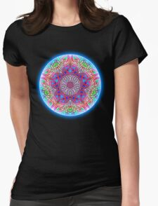 Filigree Womens Fitted T-Shirt
