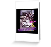 VALLEY OF THE DOLLS SHARON TATE AS JENNIFER  Greeting Card