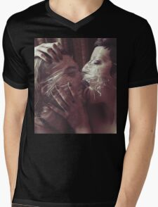 Slick - love valentine couple sex nude erotic perfect calm proud awesome cute girl nude T-Shirt