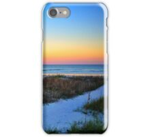Sunset over Atlantic Ocean iPhone Case/Skin