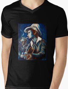 Townes Van Zandt Blues Mens V-Neck T-Shirt
