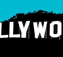 Hollywood Minimalist Design Sticker