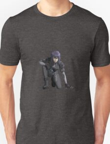 Ghost in the Shell,  Major crouching T-Shirt