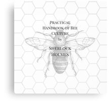 The practical handbook of bee culture by Sherlock Holmes Canvas Print