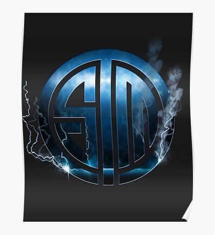 TSM Lightning Logo Poster