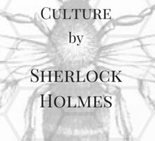 The practical handbook of bee culture by Sherlock Holmes Sticker