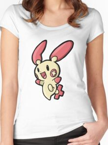 plusle Women's Fitted Scoop T-Shirt