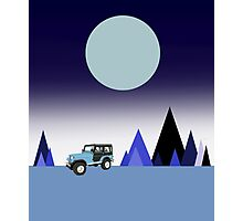 Stiles' Jeep Photographic Print