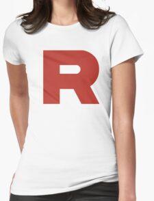 Team Rocket Logo Womens Fitted T-Shirt