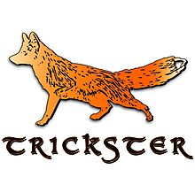Trickster Fox - Animal Spirit Totem Photographic Print