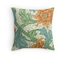 William Morris Single Stem Throw Pillow