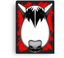 Kiss Bull Terrier Gene Simmons  Canvas Print