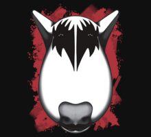 Kiss Bull Terrier Gene Simmons  One Piece - Long Sleeve