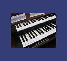 Rows of Keys - Section of Organ Keyboard Unisex T-Shirt