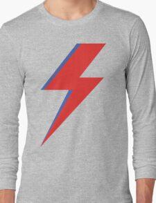 Aladdin Sane - Lightning bolt Long Sleeve T-Shirt