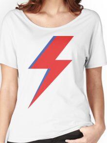 Aladdin Sane - Lightning bolt Women's Relaxed Fit T-Shirt